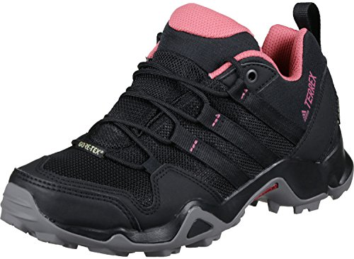 adidas Women's Terrex Ax2R GTX Low Rise Hiking Boots, Black (Core Black/Core Black/Tactile Pink), 5.5 UK 38 2/3 EU