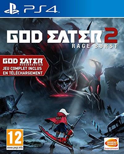 GOD EATER 2 RAGE BURST PS4 FR