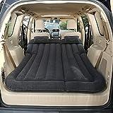 FOUWE - Colchón hinchable para coche (175 x 135 cm), negro