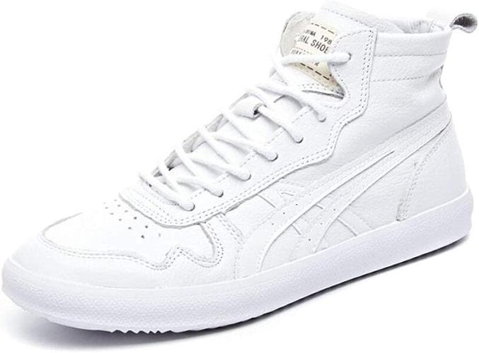 ALHM Chaussures De Sport Décontractées Sauvages De La Mode en Cuir Sauvages Dames Blanches