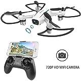 WINGLESCOUT Drone con Telecamera H816HW Mini Quadricottero Fotocamera...
