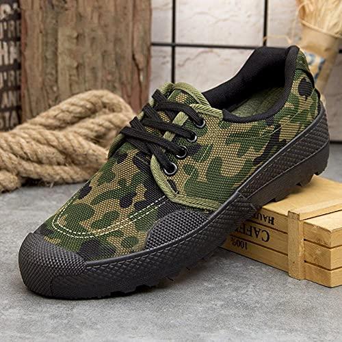Fnho Zapatillas Deportivas para Correr,Zapatos Deportivos para Correr,Zapatos de Trabajo al Aire Libre, Zapatos de Lona Deportivos Resistentes al Desgaste-B_36