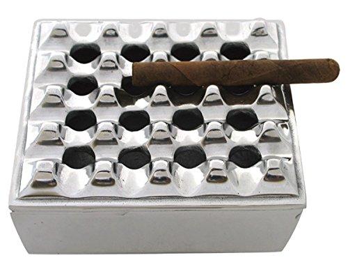 The Big fácil de Tabaco Accesorios 946617,8cm Rejilla Cuadrada de Cigarrillos Cenicero