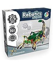 Science4you - Robotyka Scorpiobot, zestaw 161 sztuk – samodzielne budowanie z tą skrzynką elektroniczną, idealny prezent, gra edukacyjna i zabawka konstrukcyjna dla dzieci od 8 lat
