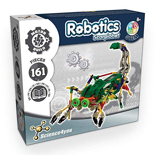 Science4you-Robotics Robotics Scorpiobot-Juguete Científico y Educativo Stem para Niños +8 Años, Multicolor (80002226)