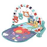 TONGJI Gimnasio Piano Pataditas, Manta Actividades Bebe con Música, Alfombra de Juegos Manta de Juego para Bebes Recien Nacidos 76 x 60 x 45cm