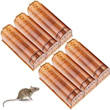 HUX EYE Humane Mouse Trap, No Kill Mouse Traps, Kids/ Pet Safe, Reusable Live Mouse Trap Catch and Release, Indoor/Outdoor Mice Trap