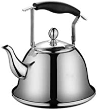 Thickened 304 Stainless Steel Kettle Small Capacity Whistling My Fastest Boiling Gas Electric Induction Stove Silver Kettl...