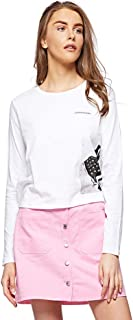 Calvin Klein T-Shirts For Women L, White