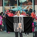 GYUB - Banderas translúcidas de una Sola Capa, 100% poliéster, 3 x 5 pies, Bandera de concientización sobre el cáncer uterino