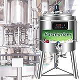 BLLJQ Sterilizzatore Pentola a Pressione Elettrica, Pastorizzatore Latte con Piastra in Acciaio Inossidabile di 1,2 mm di Spessore, Dimensioni del Prodotto: 65 * 65 * 117 cm (75 L)