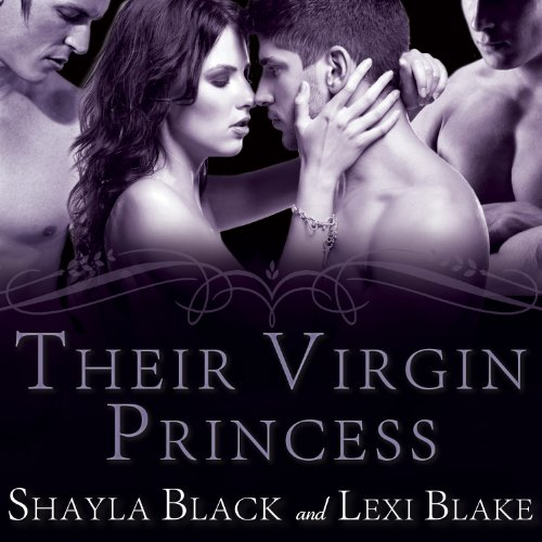 Their Virgin Princess audiobook cover art