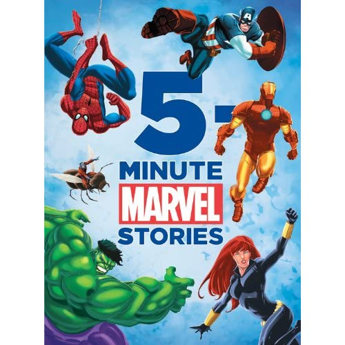 5-Minute Marvel Stories [Lingua inglese]