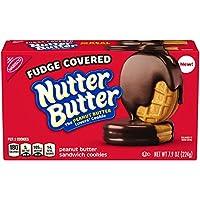 Nutter Butter Fudge Dipped Peanut Butter ナッターバターファッジディップピーナッツバタークッキー220g [並行輸入品]