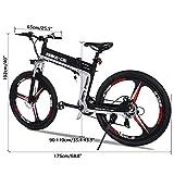 Zoom IMG-1 vivi bicicletta elettrica pieghevole 250w