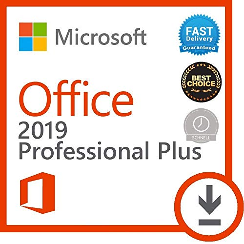 Microsoft Office 2019 Professional Plus Windows 10
