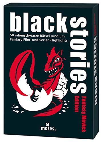 black stories - Fantasy Movies Edition: 50 rabenschwarze Rätsel rund um Fantasy Film- und Serienhighlights