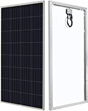 HQST 150 Watt 12 Volt Solar Panel for Off-Grid On-Grid Large Solar System, Residential..