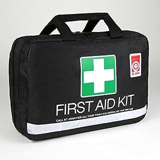 St John Ambulance Australia Large Leisure First Aid Kit, Black