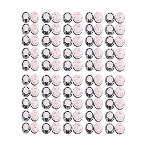 (Imaashi™) LR44, G13 1.5V Alkaline Button Coin Cell Electronics Solutions LR44 Battery. Can be Used in Watch, Clock, Calculator, Flashlights, Laser Pens, Remote Controls & Toys. (Pack of 100)
