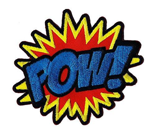 POW ! Aufnäher Bügelbild Patch Applikation