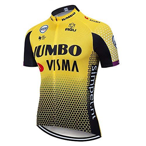 Pantaloncini Ciclista Uomo logas Completo Abbigliamento Ciclismo Uomo Estive Magliette Bici Maniche Corte