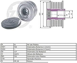 Polia Alternador Roda Livre (Catraca) SORENTO - ZEN5593