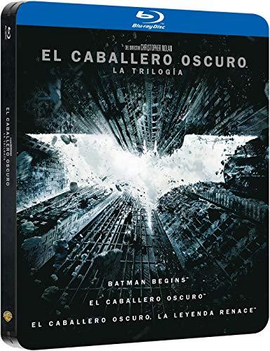 Pack Trilogia El Caballero Oscuro Black Metal Edition Blu-Ray [Blu-ray]