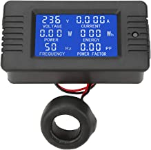 PEACEFAIR PZEM-022 AC Digital Meter Power Energy Voltage Current Test With Closed Type CT 100A