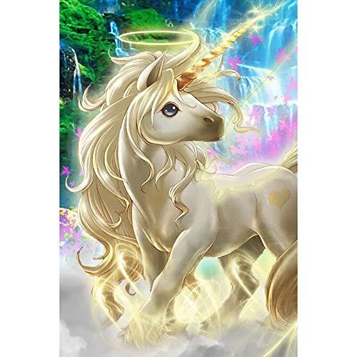yaonuli Droom paard dier kinderen DIY digitale schilderij canvas unieke gift home decoratie 40x50cmFrameless