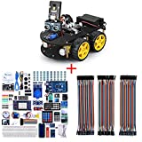ELEGOO UNO R3 Project Smart Robot Car Kit V4.0 and ELEGOO Mega 2560 Project The Most Complete Ultimate Starter Kit and ELEGOO 120pcs Multicolored Dupont Wire