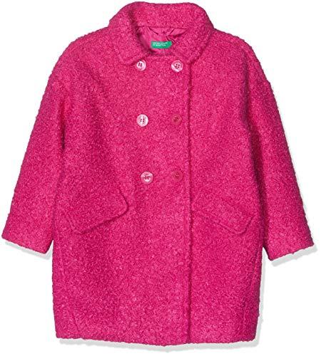 United Colors of Benetton United Colors of Benetton Mädchen Blazer Coat, Rosa (Cyclamen) - 2 jahre (Herstellergröße: 2 jahre/90 cm)