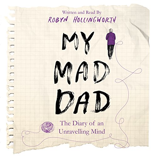 My Mad Dad audiobook cover art