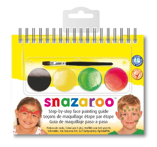 Snazaroo - 766416125552 - Maquillage - Mini Kit - Livret Fruits Et Légumes