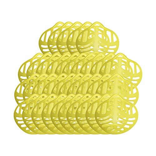 Générique Supports Masque, 25/35/45/55PC Supports de Masque 3D en Silicone, Support de Masque Respirant, Support Masque Silicone Doux Inodore et Inoffensif, Augmente l'espace de Respiration