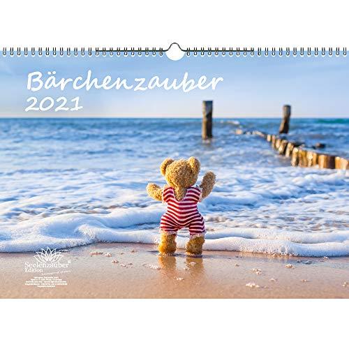 Bärchenzauber DIN A3 Kalender für 2021 Teddy und Bärchen - Seelenzauber