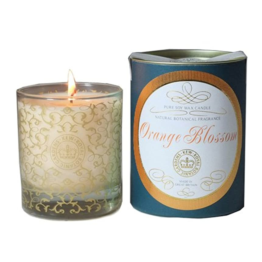 契約したちらつき安いですCANOVA キューヴィンテージ グラスキャンドル オレンジブロッサム Kew Vintage GlassCandle OrangeBlossom カノーバ
