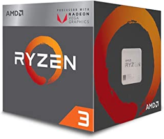 AMD CPU Ryzen 3 2200G with Wraith Stealth cooler YD2200C5FBBOX