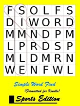 Simple Word Find - Sports Edition (formatted for Kindle)