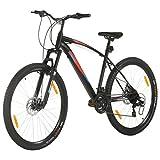 Tidyard Bicicletta Mountain Bike 21 Speed 29' Ruote 48 cm Telaio Nero,Bicicletta Mountain Bike ,Uomini e Donne