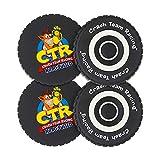 Coasters Officiels Crash Team Racing Nitro-Fueled Tyre Coasters.