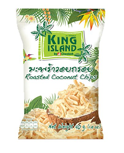 KING ISLAND ココナッツチップス・オリジナル味40g×24袋