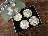 Table Magic Theater - 2 Shell and 5 Coin Set Morgan Dollar