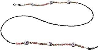 Sopaila Colorful Ceramic Beaded Eyeglass Chain Sunglass Holder Glasses Strap Lanyards