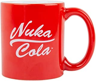 Fallout 76 – Taza de cerámica Premuim – Nuka Cola – Logo – Caja de regalo