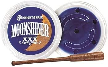 Knight & Hale Moonshiner Turkey Pot Call Moonshiner Crystal Over Acrylic Turkey Pot Call