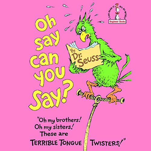 Oh Say Can You Say? audiobook cover art