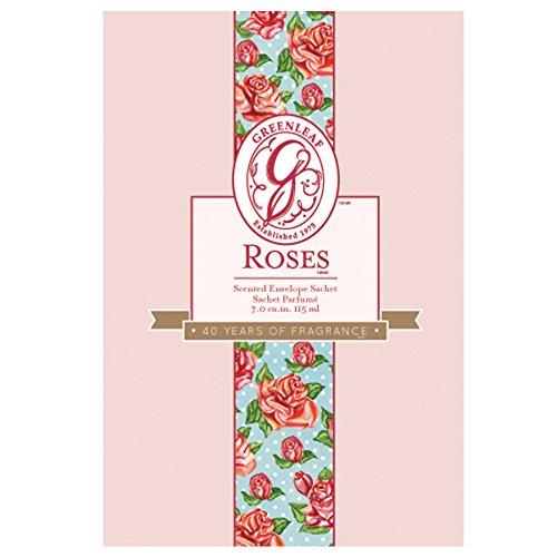 Sobre aromático Greenleaf en tamaño grande de 115ml con aroma a rosas