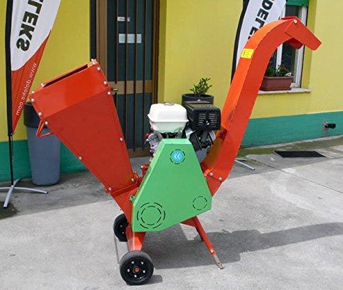 Holzhäcksler mit Benzinmotor 15Ps