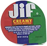 Jif Creamy Peanut Butter, Portion Control, 1.1 Ounce, 120 Count